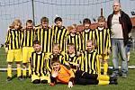 Fotbalový turnaj starších přípravek O pohár kapitána na Novém Hradci Králové - Nový Hradec / Slavia Hradec.