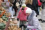 Vánoční trhy na Masarykově náměstí v Hradci (18. prosince 2010).