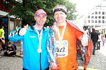 Sportovní redaktor Deníku Petr Tomeš běžel Pražský maraton.