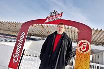 Generální ředitel fotbalového klubu FC Hradec Králové Richard Jukl na Všesportovním stadionu.