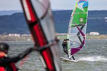 Windsurfing na Rozkoši.