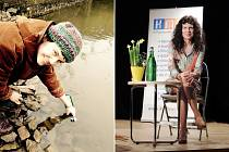 Eva Černošová: Tyhle moje řeky - křest knihy.