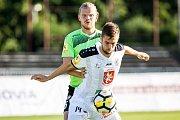 Fotbal fotbalová národní liga FC Votroci Hradec Králové  vs. FK Viktoria Žižkov