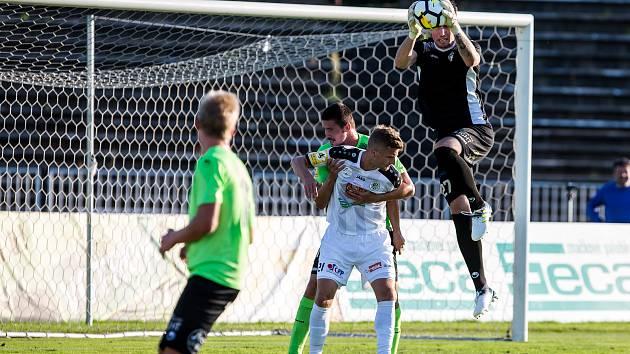 Fotbal fotbalová národní liga: FC Hradec Králové vs. FK Viktoria Žižkov