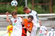 Fotbalová národní liga: FC Hradec Králové - MFK Frýdek-Místek.