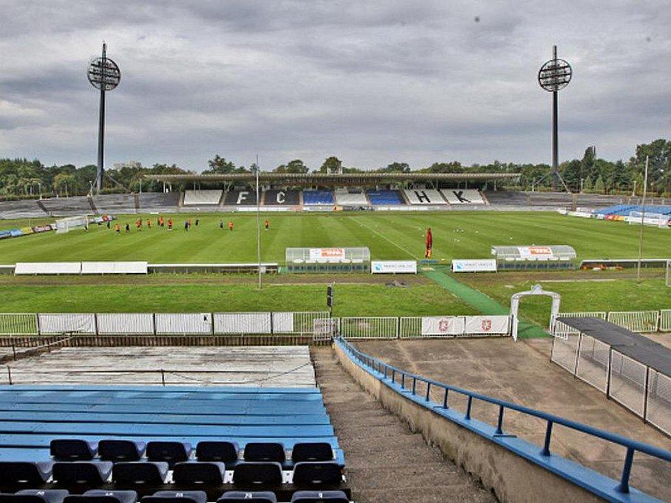 Všesportovní stadion čeká přestavba.