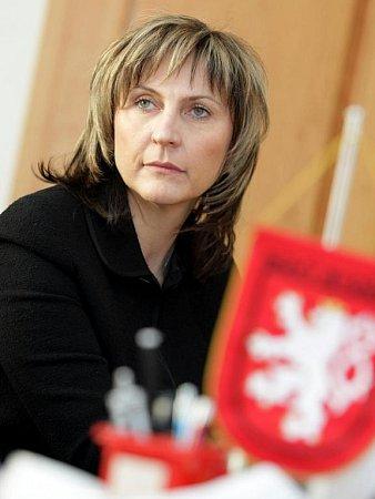 Starosta Nového Bydžova Pavel Louda na jednání sIvanou Řápkovou, bývalou primátorkou Chomutova.
