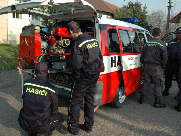 Nový vůz Kosičských hasičů