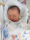 MAREK HRNČÍŘ přišel na svět 2. dubna v 15.32 hodin. Po narození měřil 52 cm a vážil 3360 g. Velkou radost svým příchodem na svět udělal svým rodičům Ivaně Zrnové a Miroslavu Hrnčířovi z Holic.