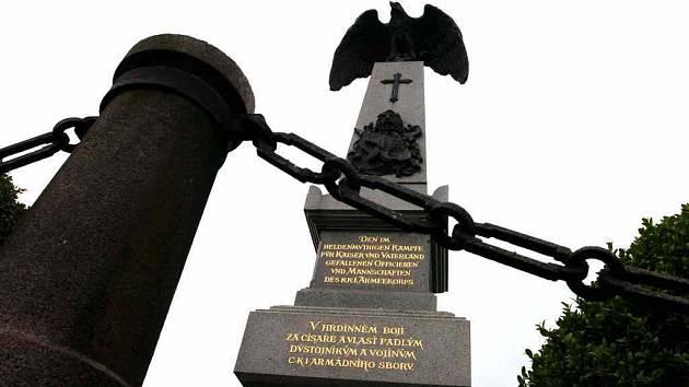 Památník bitvy roku 1866 na Chlumu
