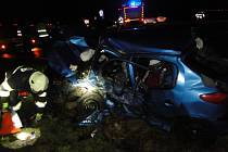 Nehoda u Plačic 2. 1. 2018