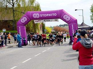 Běžecká Aprílová půlka ve Starém Bydžově.