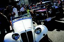 XV. královéhradecká veteran rallye.