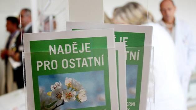 Naděje pro ostatní - projekt ve Fakultní nemocnici Hradec Králové.