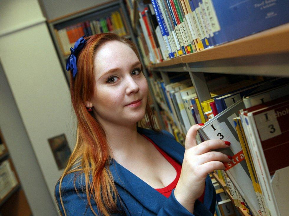 Studentka královéhradecké univerzity Zuzana Jedličková.