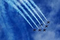 CIAF 2010:  L-39 Breitling Team. (neděle 5. září).