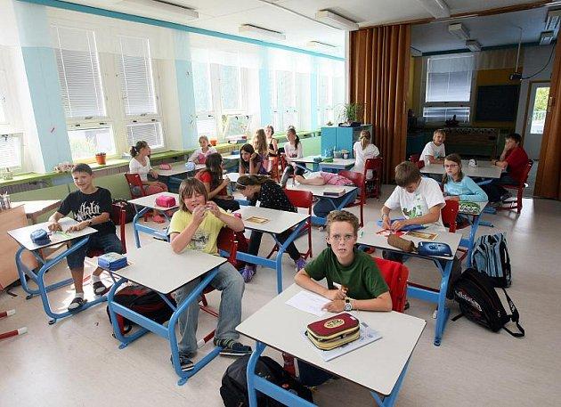 Škola Sion v Hradci Králové. Ilustrační fotografie.
