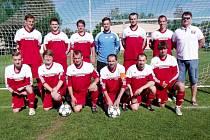 Fotbalisté TJ Sokol Dohalice.