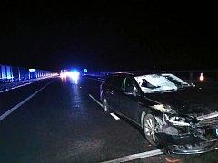 Tragická nehoda na dálnici D11.