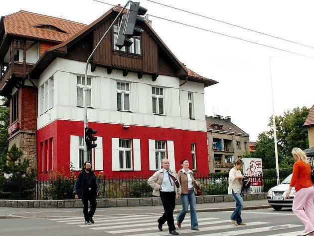 Vila Anička na Gočárově třídě v Hradci Králové