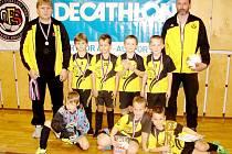 Decathlon halový fotbalový okresní přebor mládeže kategorie mladších elévů - finálová část: Černilov.