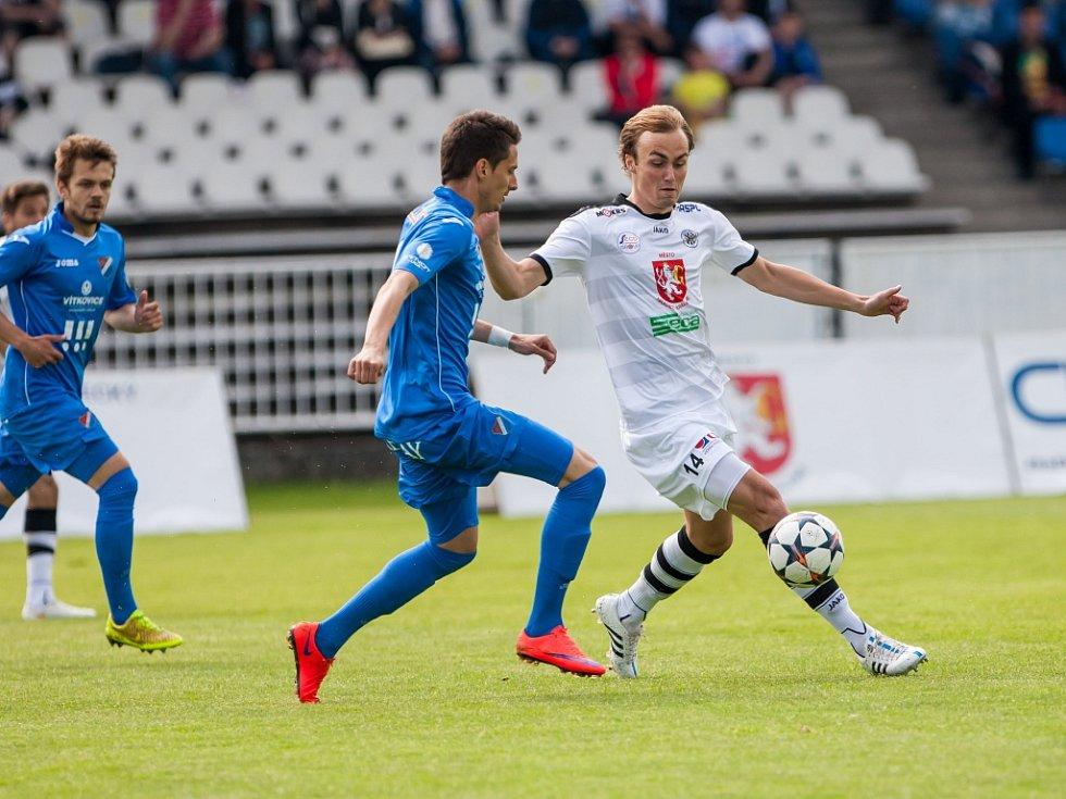 Fotbalová Synot liga: FC Hradec Králové - FC Baník Ostrava.