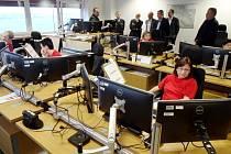 Ukázka činnosti operačního řízení základních složek Integrovaného záchranného systému Královéhradeckého kraje.
