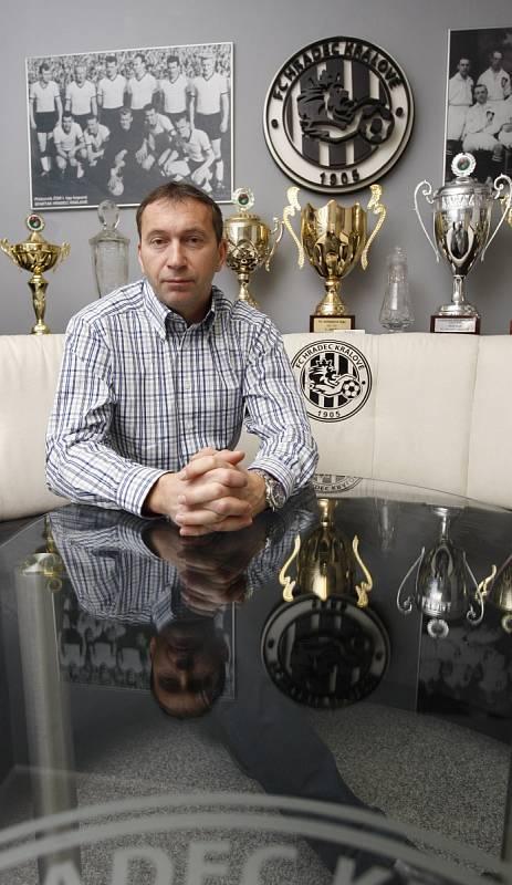 Richard Jukl, generální ředitel FC Hradec Králové.