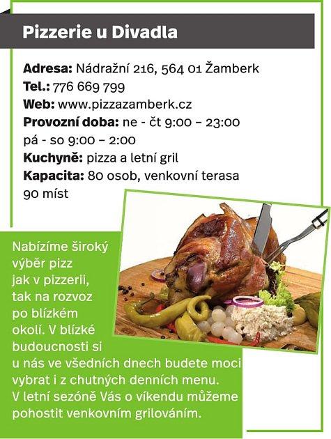 Pizzerie uDivadla, Žamberk