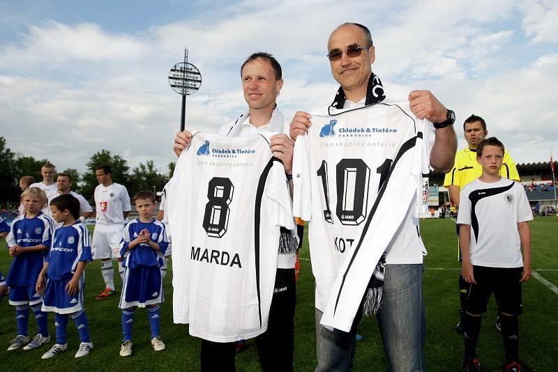 Trenéři Václav Kotal a Michal Šmarda prožili úspěšné období v Hradci Králové