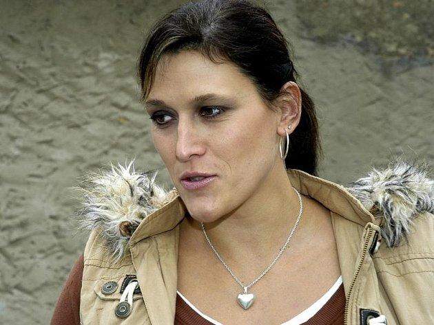 Basketbalistka Eva Němcová-Horáková