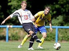 Fotbal, přípravný duel v Chlumci: Hradec vs. Teplice (25.06.2011)