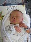 FRANTIŠEK VONDROUŠ se narodil 5. února v 10.44 hodin. Po porodu měřil 50 cm a vážil 3610 g. Největší radost svým příchodem na svět udělal svým rodičům Lence a Tomášovi ze Sutých Břehů.