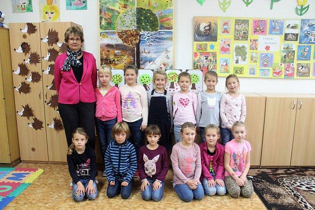 1. třída ze ZŠ Předměřice nad Labem.