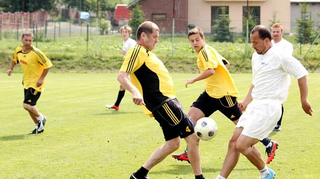 Turnaj v malé kopané Hajda Cup v Černilově.