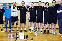 Fotbalový turnaj vyhrál tým Sport Hradec Cup.