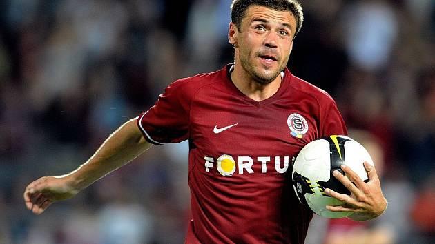 Fotbalista Sparty Praha Marek Kulič.