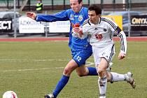 Fotbal, II. liga: Ústí nad Labem - Hradec Králové (15. března 2009)