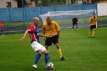 Momentka z utkání FK Náchod - RMSK Cidlina Nový Bydžov.