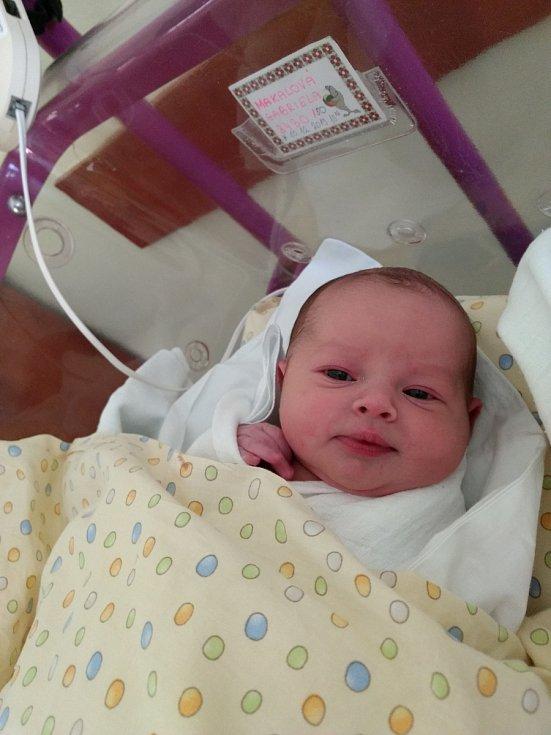 GABRIELA MAKALOVÁ - narozena 10. prosince 2019 v 10.06 hod.; míry: 3430 g, 50 cm; rodiče: Veronika a David Makalovi z Rodova. Doma už se na sestru těší bratříček Davídek.