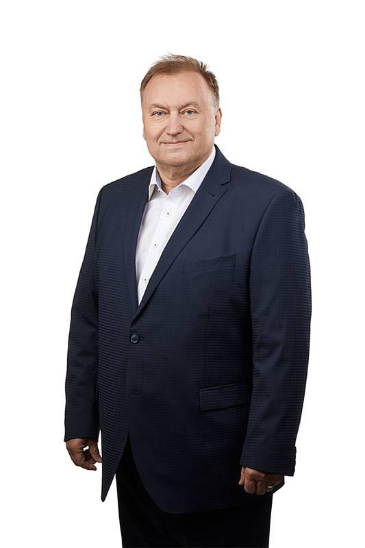 Lídr kandidátky uskupení Trikolora, Svobodní, Soukromníci v Královéhradeckém kraji Miroslav Havrda.