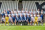 Fotografování fotbalistů FC Hradec Králové.