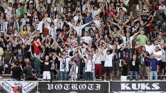 Fanoušci FC Hradec Králové. Ilustrační fotografie.