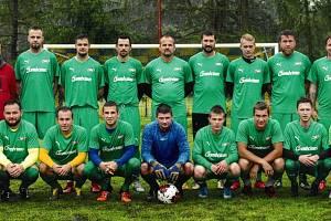 SK Klamoš - vítěz Polabského poháru.