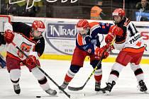 Hokejová extraliga staršího dorostu: Mountfield HK - HC Letci Letňany.