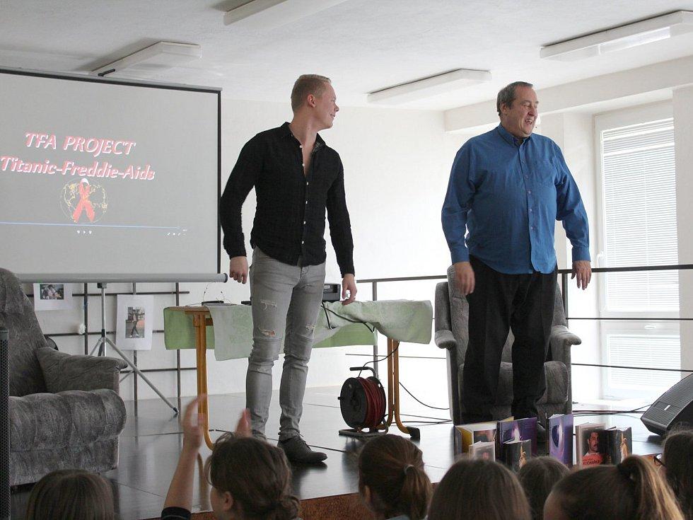 Project Titanic - Freddie - Aids odstartoval v předměřické základní škole.