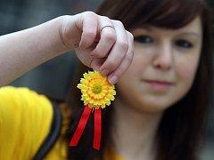 V Hradci Králové se 12. května již tradičně konala veřejná sbírka na boj proti rakovině.