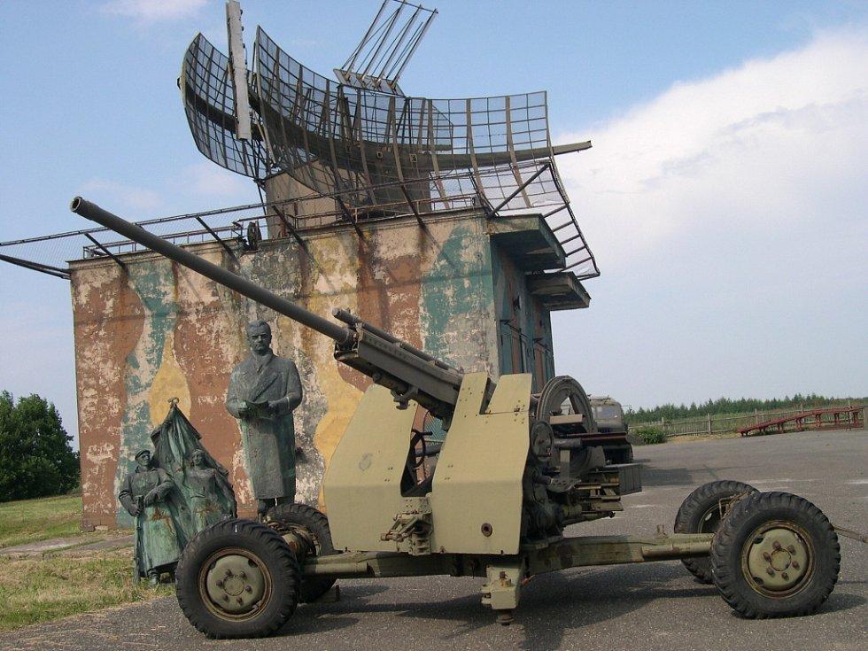 Symbolické umístění před totalitní skulptury