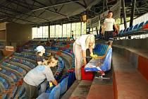 Oprava zimního stadionu