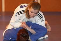 Judistka Diana Bláhová, sportovkyně Judo Clubu Hradec Králové.